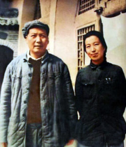 Mao and Jiang Qing, 1946 http://wikipedia.org