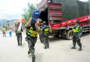 humanitaire hulp in china