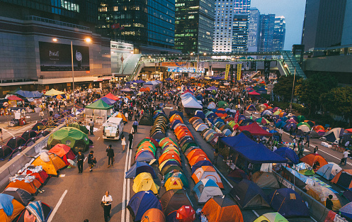 Occupy Hong Kong: Publiek experiment in een private stad