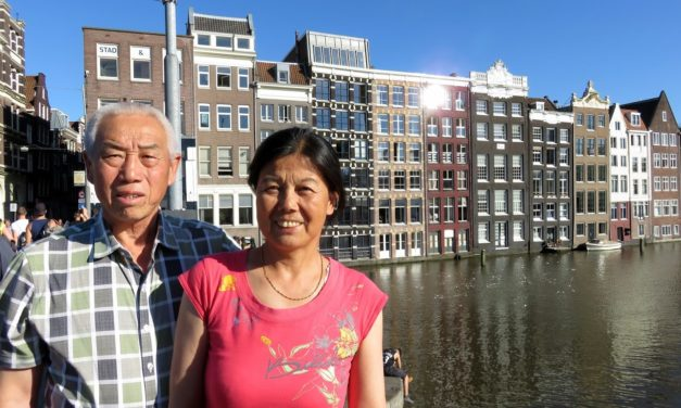 Chinezen over de vloer: Nederland door Chinese ogen