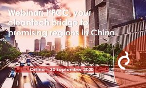I²PCC, your cleantech bridge to promising regions in China @ online